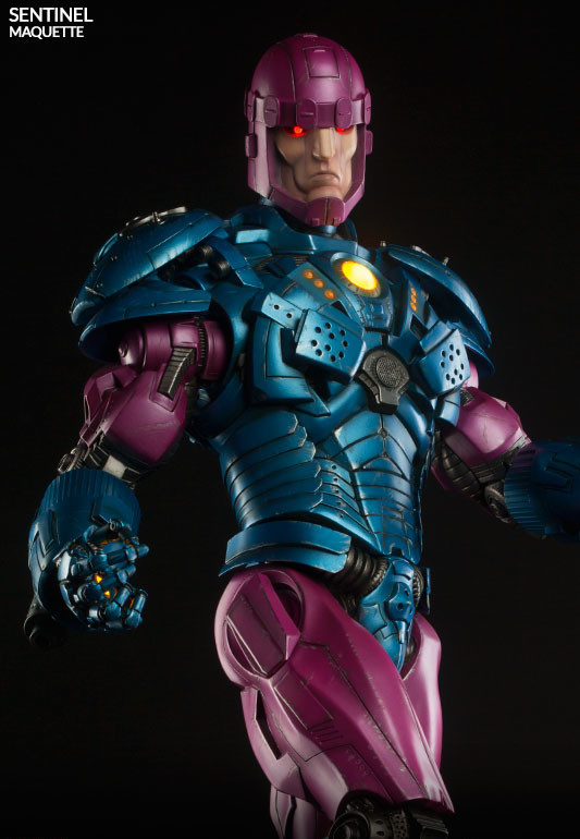 Sentinel Maquette Sideshow Collectibles with Electronic Eyes Chest On