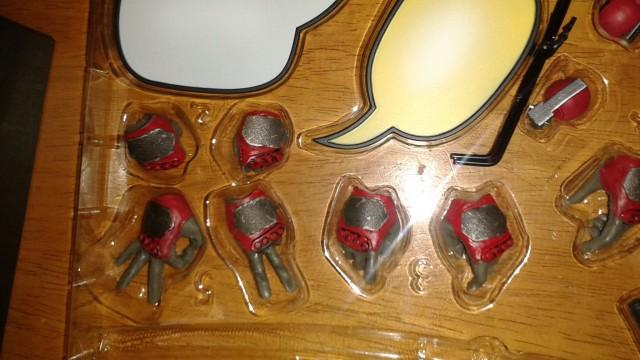 Sideshow 12 Inch Deadpool Hands Interchangeable