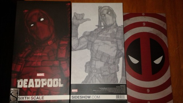 Sideshow Collectibles Deadpool Sixth Scale Figure Box Unboxing