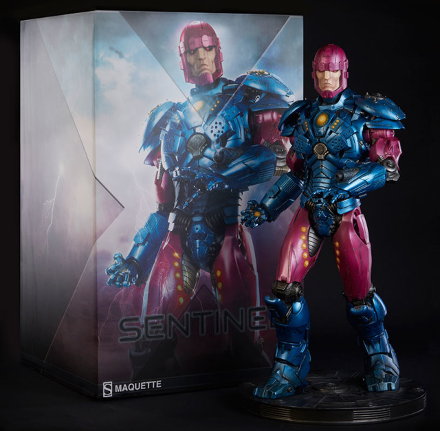 Sideshow Collectibles Sentinel Maquette Box