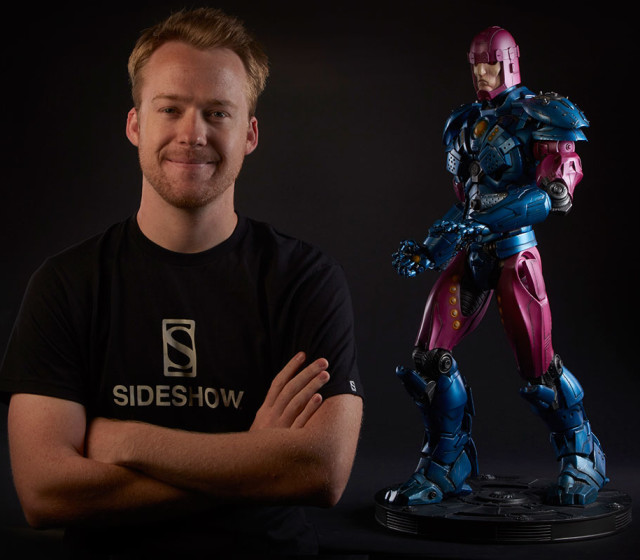Sideshow Collectibles Sentinel Maquette Size Scale Photo 32 Inches Tall