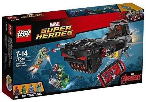 2016 LEGO Marvel Iron Skull Sub Attack Box