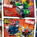 LEGO Marvel 2016 Mighty Micros Sets & Minifigures!