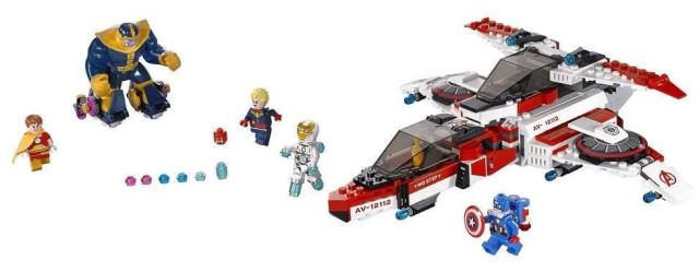 76049 LEGO Avenjet Space Mission Marvel Winter 2016 Set