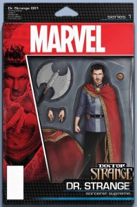 All-New All-Different Doctor Strange Figure Variant Cover