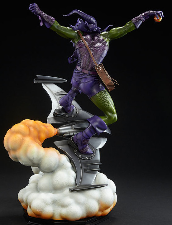Back of Green Goblin Premium Format Figure Statue