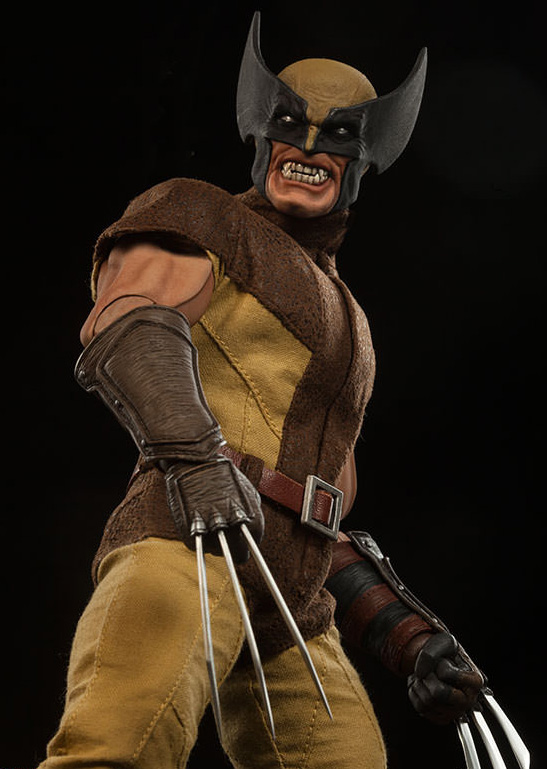 Brown Costume Wolverine Sideshow Collectibles Figure
