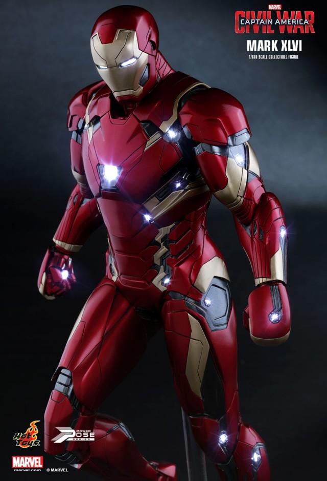Captain America Civil War Iron Man Mark 46 PPS