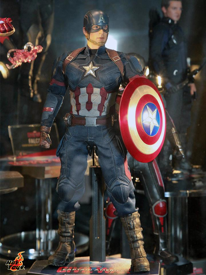 Hot Toys Captain America Civil War Figures Revealed ...