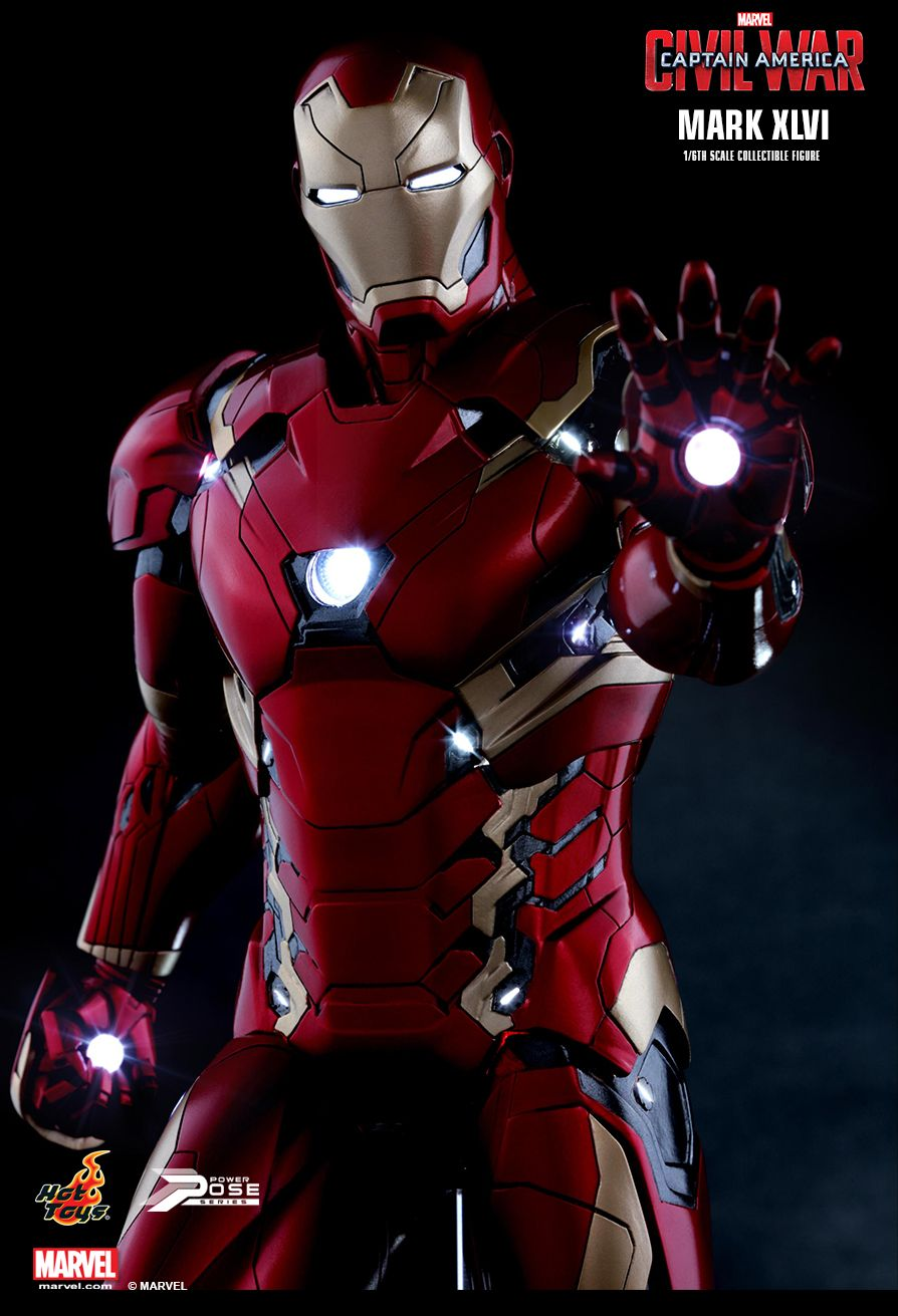Hot Toys Civil War Iron Man Mark 46 Photos & Order Info ...