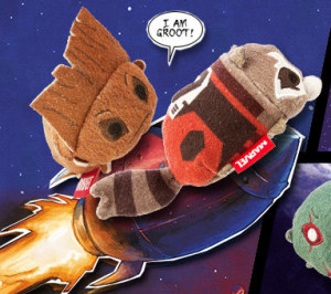 Disney Tsum Tsum Rocket Raccoon Groot Plush Toys