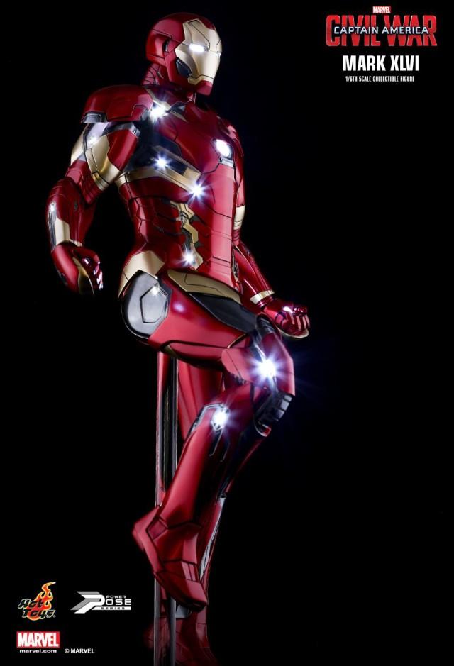 Hot Toys Captain America Civil War Iron Man 46 Figure