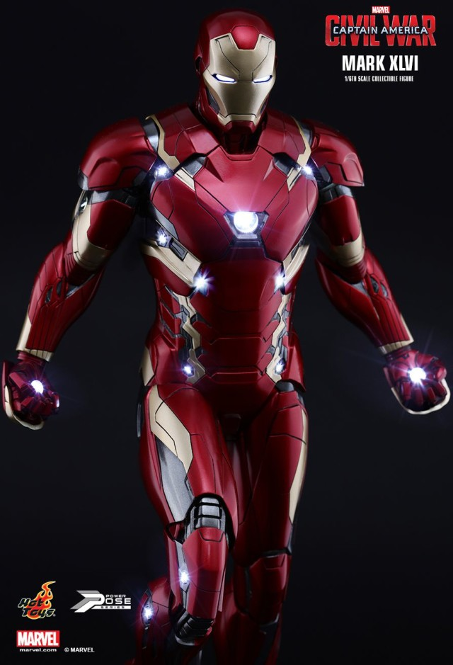 Hot Toys PPS Iron Man Mark 46 Action Figure Sixth Scale
