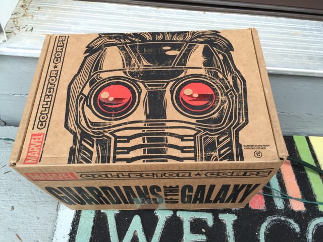 December 2015 Collectors Corps Guardians of the Galaxy Box Review