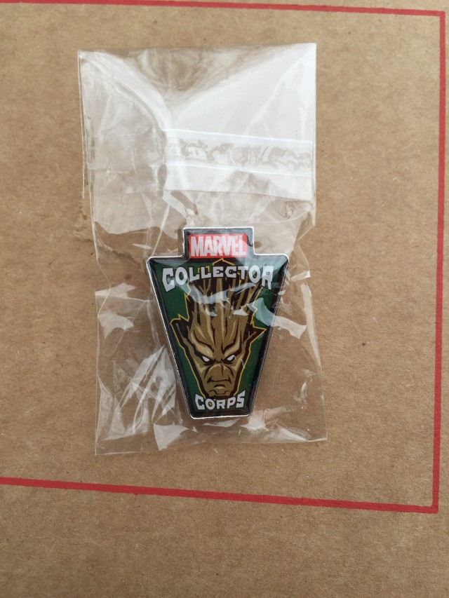 Funko GOTG Collector Corps Groot Pin