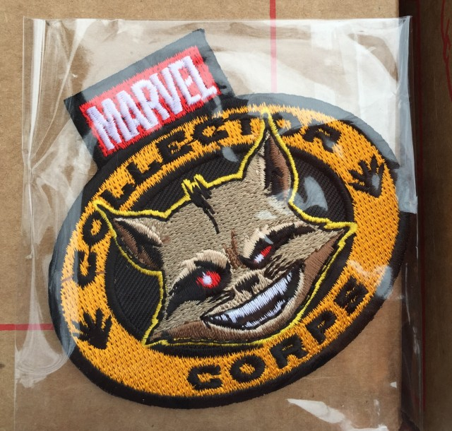 Marvel Collector Corps Rocket Raccoon Patch