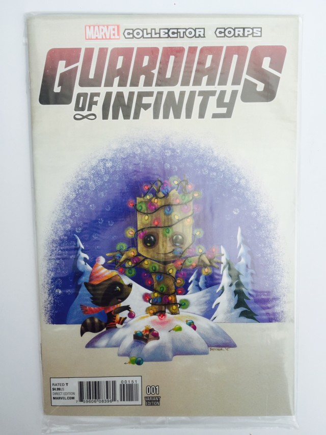 Marvel Collector Corps Guardians of Infinity #1 Variant Cover Comic Book