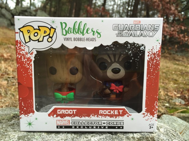 Marvel Collector Corps Ornaments Rocket Raccoon Baby Groot