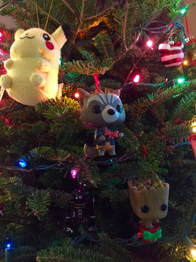Funko POP Bobblers Rocket Raccon and Groot Ornaments