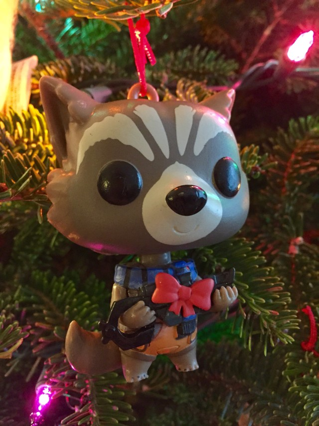Funko Rocket Raccoon Ornament POP Bobblers