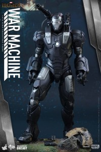 Iron Man 2 War Machine Die-Cast Sixth Scale Figure Hot Toys