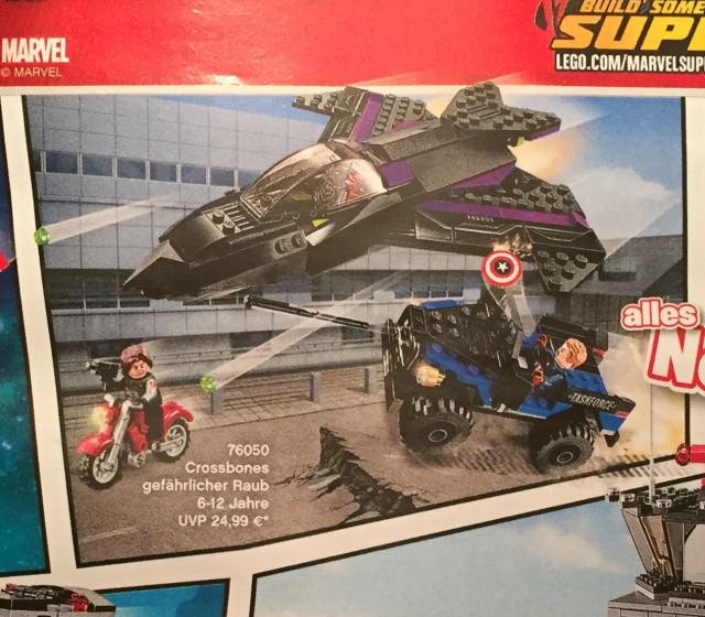 LEGO Civil War Crossbones Set 76050