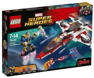 LEGO Marvel 2016 Avenjet Space Mission Box