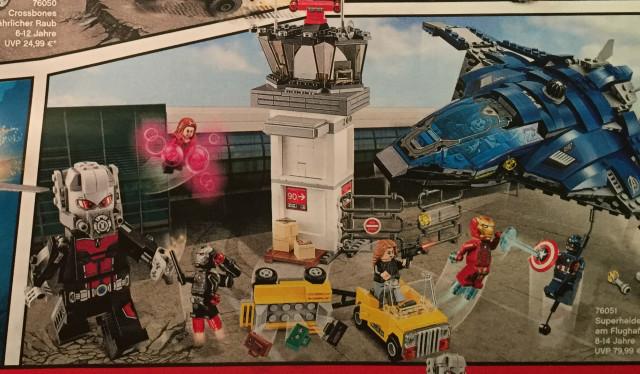 LEGO Marvel 2016 Civil War Giant-Man Set 76051