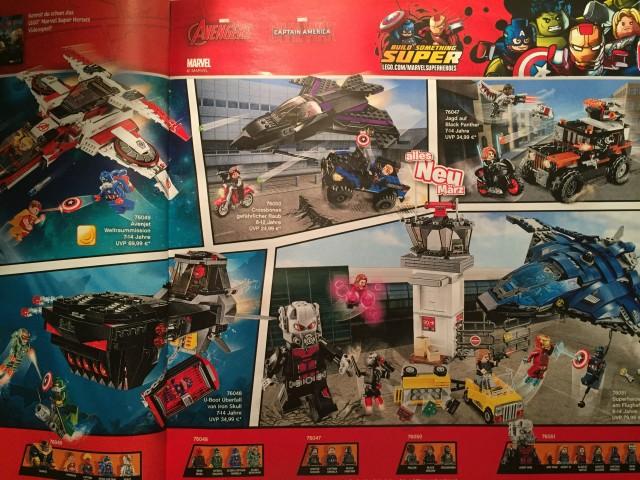 LEGO Marvel Civil War Sets Revealed