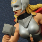 Diamond Select Lady Thor Femme Fatales Statue Photos!