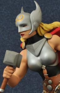 Lady Thor Statue Revealed
