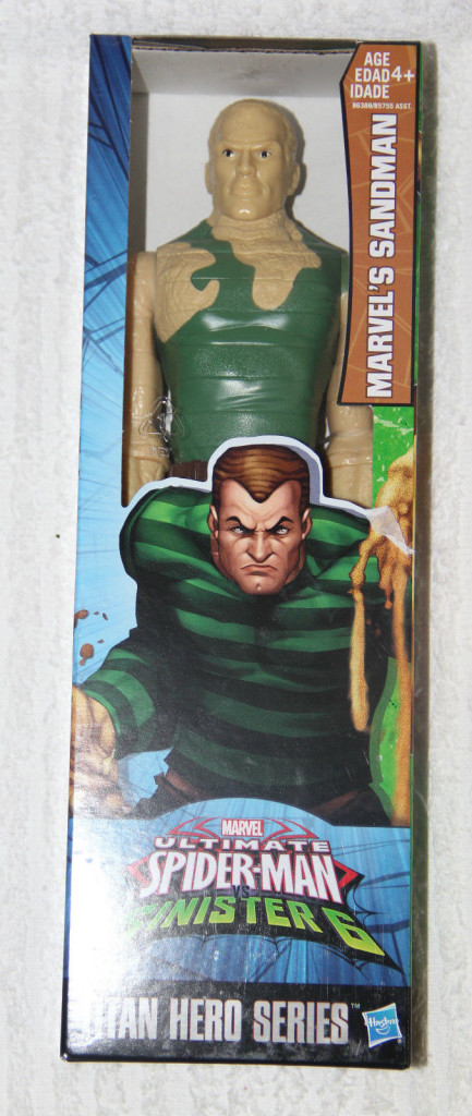Marvel Titan Hero Sandman Figure