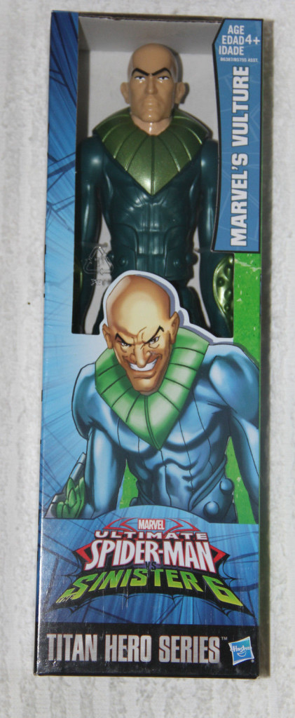 Marvel Titan Heroes Vulture Figure Boxed 12 Inch