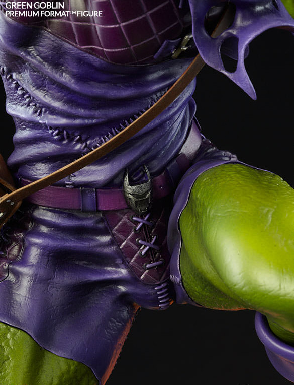 Premium Format Figure Green Goblin Crotch Close-Up