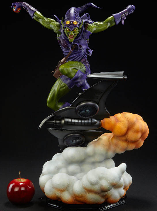 Scale Photo Size Comparison of Sideshow Green Goblin PF Statue