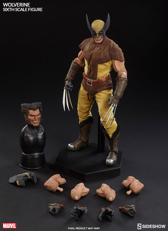 Sideshow Collectibles Wolverine Sixth Scale Figure and Accessories