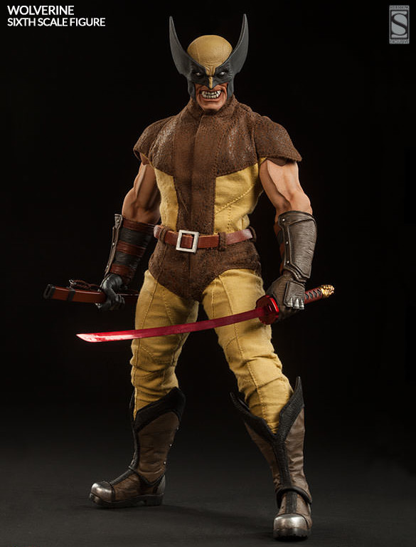 Sideshow Exclusive Wolverine Figure with Muramasa Blade Sword