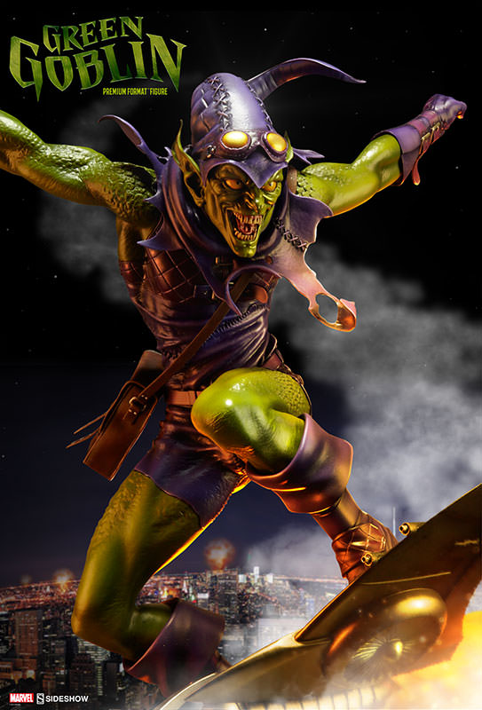 Sideshow Premium Format Green Goblin Figure Announced