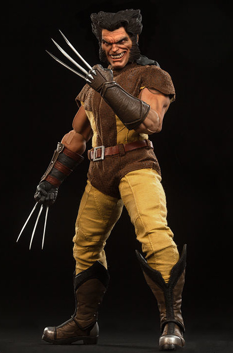 Sideshow Unmasked Wolverine Head Sculpt Sixth Scale Figure