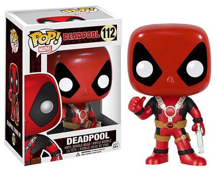 Thumbs Up Deadpool Funko POP Vinyl Figure