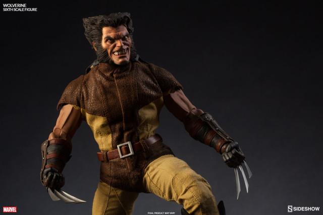 Wolverine Sideshow Collectibles 12 Inch Figure Unmasked Berserker Rage