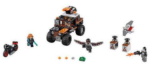 76050 LEGO Crossbones Hazard Heist Set
