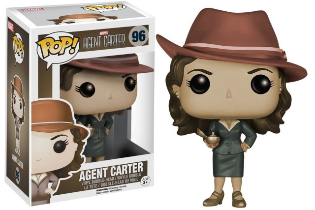 Amazon Exclusive Funko Sepia Agent Carter POP Vinyls Figure