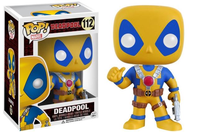 Amazon Exclusive Yellow Deadpool Funko POP Vinyls Figure