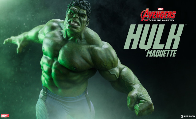 Avengers Age of Ultron Hulk Maquette Sideshow 2016