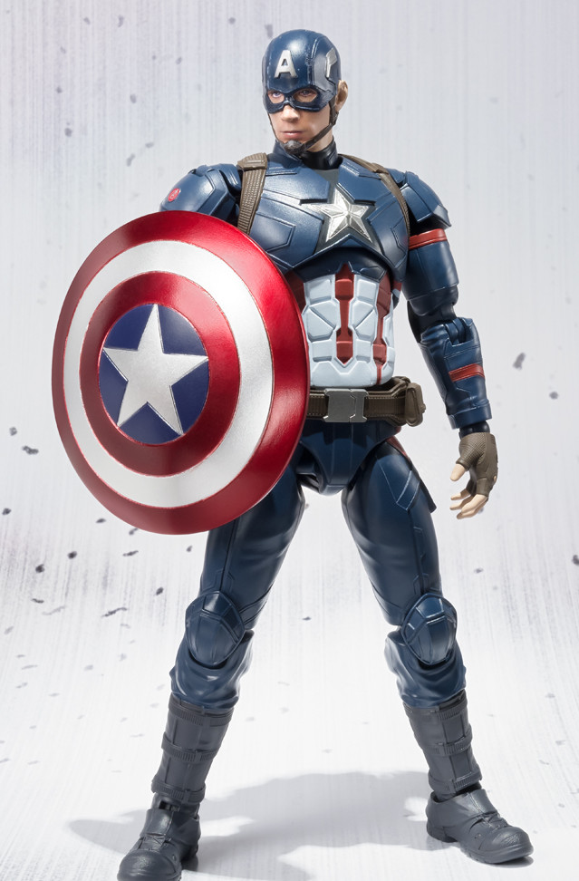 Bandai Civil War Captain America S.H. Figuarts Action Figure