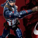 Bandai SH Figuarts Civil War Captain America Revealed!