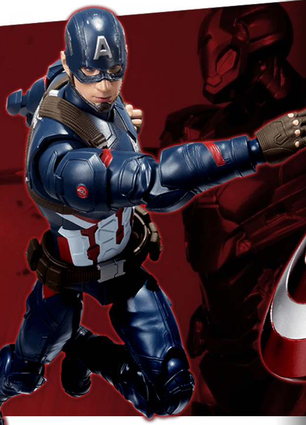 Captain America Civil War SH Figuarts Figure Revealed