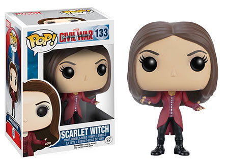 Captain America Civil War Scarlet Witch Funko POP Vinyls Figure