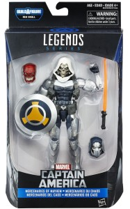 Captain America Legends Taskmaster Figure Packaged with Red Onslaught Head